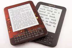 Increasing Word Size on an e Book Reader